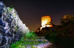 Burg Windeck bei Nacht
